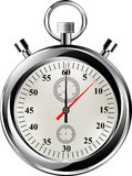 传染媒介秒表,例证eps8 图库摄影