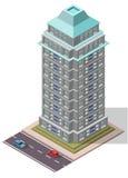 传染媒介等量办公室工作场所大厦 免版税图库摄影