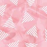 传染媒介糖果三角无缝的样式 库存照片