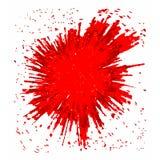 传染媒介红色BLOB 库存图片