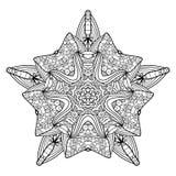 传染媒介美丽的Deco星 皇族释放例证