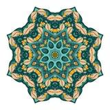 传染媒介美丽的Deco色的坛场 图库摄影
