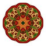 传染媒介美丽的Deco色的等高坛场 皇族释放例证