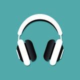 传染媒介耳机 图库摄影