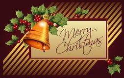 传染媒介背景圣诞节和新年 库存图片
