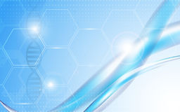 传染媒介背景抽象科学和医疗保健概念 免版税库存图片