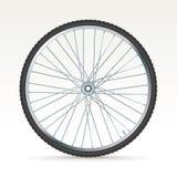 传染媒介自行车轮子 库存照片