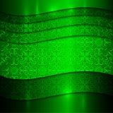 传染媒介绿色金属织地不很细背景 图库摄影