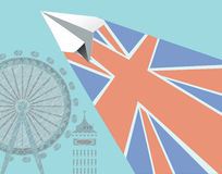 传染媒介英国旅行 库存图片