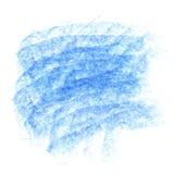 传染媒介蓝色白垩背景 库存图片