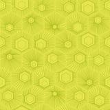 传染媒介蜂窝样式绿色 图库摄影