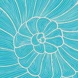 传染媒介蜗牛的背景样式 免版税库存照片