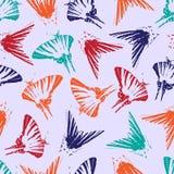传染媒介蝴蝶图案eps10 免版税图库摄影