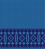 传染媒介被编织的几何样式 库存照片