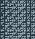 传染媒介被编织的几何样式 免版税库存图片