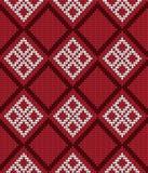 传染媒介被编织的几何样式 免版税图库摄影