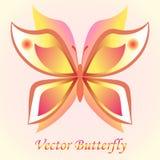 传染媒介豪华蝴蝶背景设计。Colorfull概念。 免版税库存图片