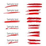 传染媒介轮廓色_元素 免版税库存照片