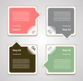传染媒介进展背景。产品选择或版本 免版税库存照片