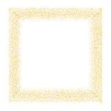传染媒介金子闪烁摘要背景 免版税库存照片