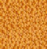 传染媒介金黄三角背景,无缝的样式 库存照片