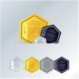 传染媒介马赛克模板。与空间的Colorfuly多角形您的t的 免版税库存照片