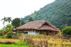 传统不自然的房子这迷人的家庭逗留属于一个地方Tay家庭 库存照片