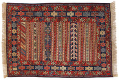 传统东方地毯 免版税库存照片