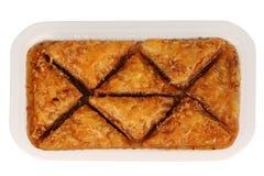传统东方点心果仁蜜酥饼用糖浆 库存图片