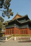 传统中国亭子的样式 库存图片