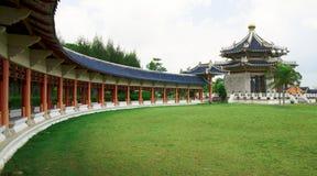 传统中国塔的寺庙 库存图片