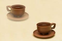传统中国杯子照片的茶 库存照片
