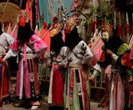 传统中国的剧院 免版税库存照片