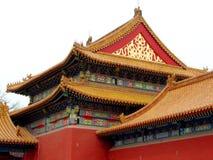 传统中国的寺庙 免版税库存图片