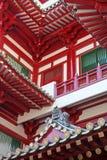 传统中国的寺庙 免版税库存照片