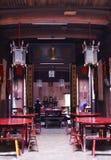 传统中国的房子 免版税库存图片