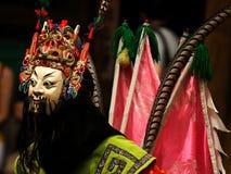 传统中国的歌剧 免版税库存照片