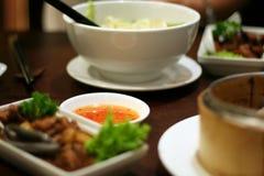 传统中国的烹调 库存图片