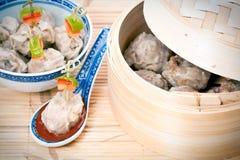传统中国的膳食 图库摄影