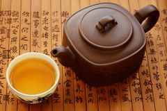 传统中国的茶 库存照片