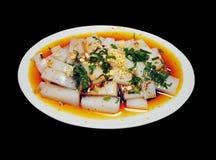 传统中国的食物 库存照片
