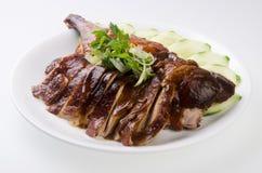 传统中国鸭子食物的烘烤 免版税库存照片