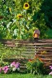 传统乌克兰篱笆条 库存照片
