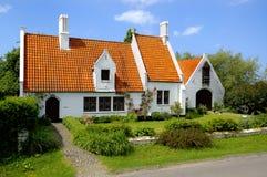 传统乡下的房子 免版税图库摄影