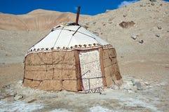 传统亚洲的jurt 库存照片
