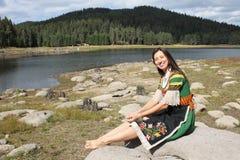 传统保加利亚民间传说 免版税库存照片