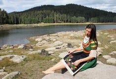 传统保加利亚民间传说 库存图片