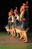 传统保加利亚的舞蹈 免版税图库摄影