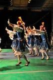 传统保加利亚的舞蹈 库存照片