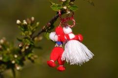 传统保加利亚的martenica 库存照片